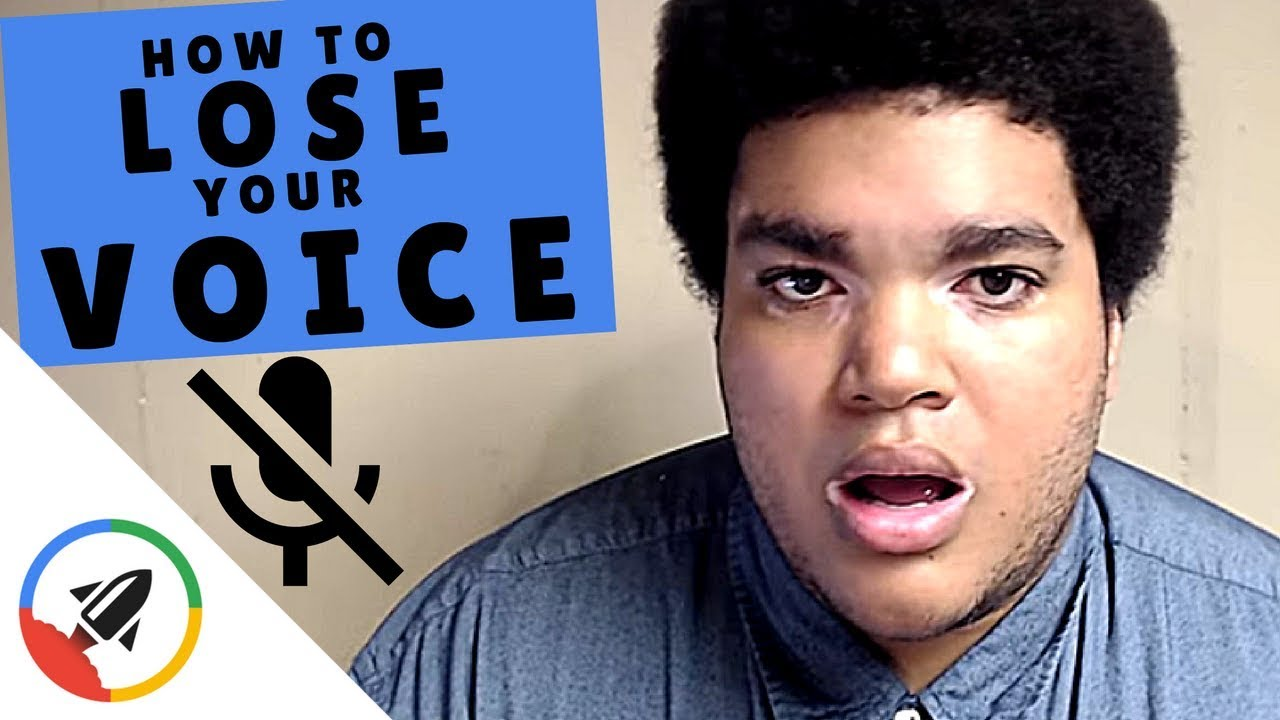 Download How To Lose Your Voice | 4 Easy Ways!