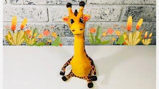 жирафиз соленого теста своими руками.Мастер-класс. DIY