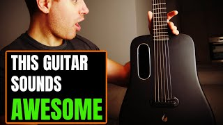 This Carbon Fiber Guitar Has it ALL! ... Beautiful Built-in Effects!