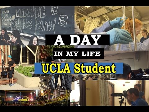 Follow me around: UCLA Student l Class, Chem lab, Photoshoot