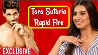 Tara Sutaria Rapid Fire About Make Up And Interview About Rumoured BF Sidharth Malhotra