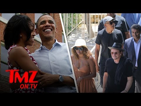 The Obamas Are Still On Vacay | TMZ TV