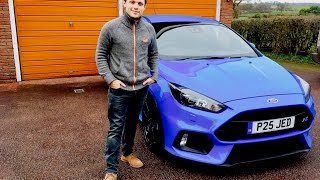 Ford Focus RS meets the Family
