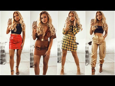 NIGHT OUT OUTFIT IDEAS 2018 / Clubbing & Party Lookbook 2018