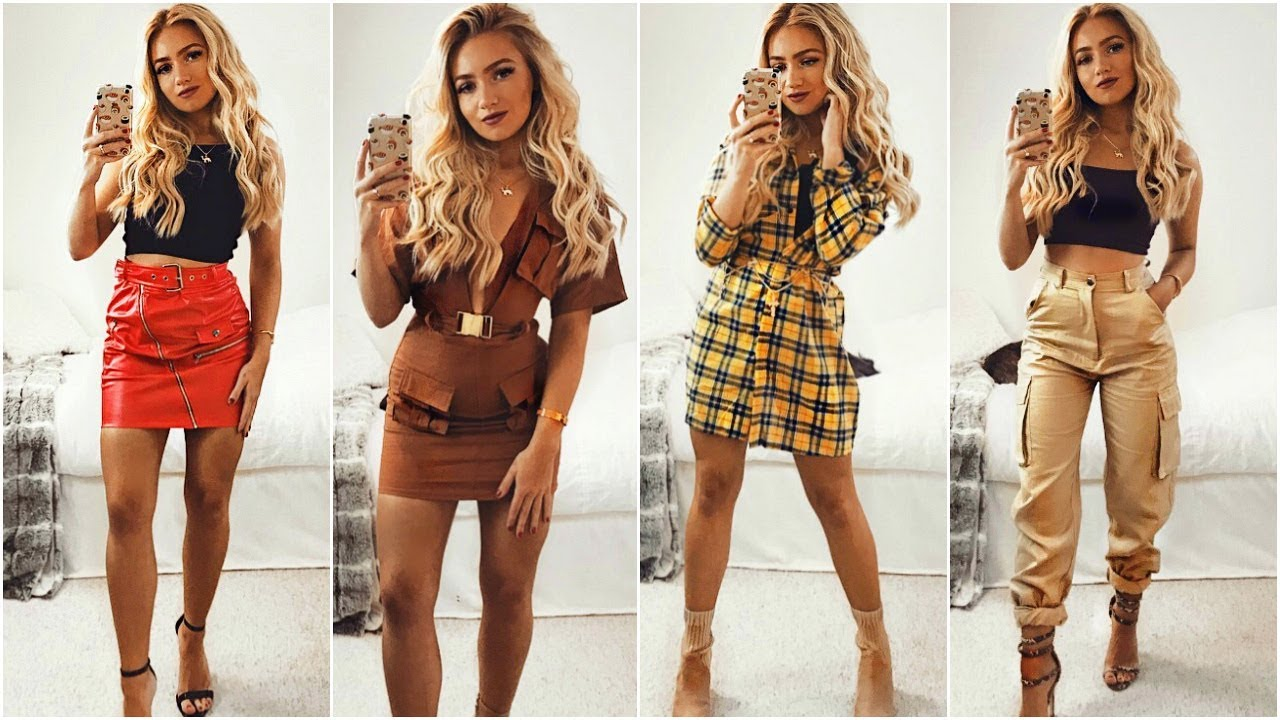 335e11ca7b90 NIGHT OUT OUTFIT IDEAS 2018   Clubbing   Party Lookbook 2018 - YouTube
