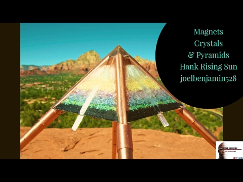 Magnets Crystals & Pyramids Hank Rising Sun joelbenjamin528