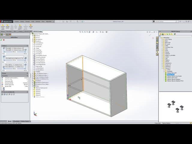 SWOOD Design - integrovaný software pro automatizaci návrhu a výrobu nábytku