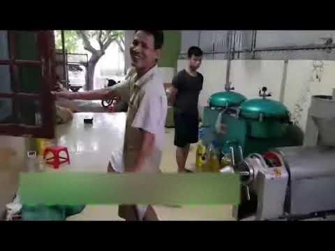 Hướng dẫn lắp đặt vận hành máy ép dầu thực vật công nghiệp Guangxin YZYX95WK