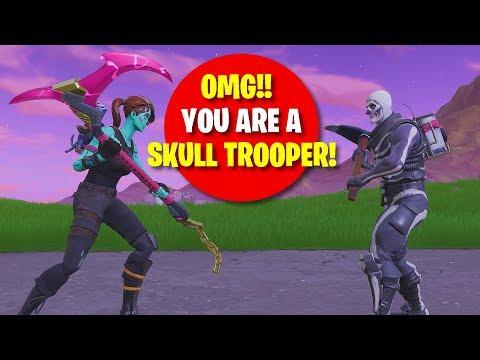 I MATCHED WITH A SKULL TROOPER!! He Got 0 KILLS!