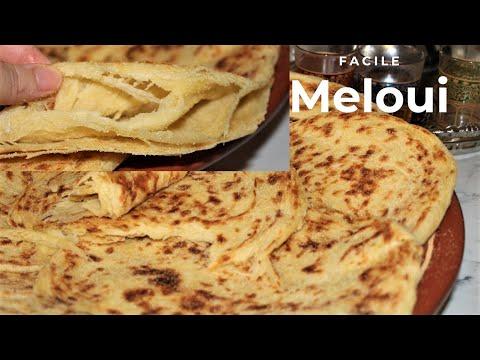 meloui-marocaine-bien-feuilleté-/-recette-facile-et-rapide-😃
