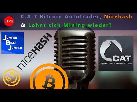Diskussionsrunde: Bitcoin Trader CAT, Nicehash, Lohnt sich Mining wieder?