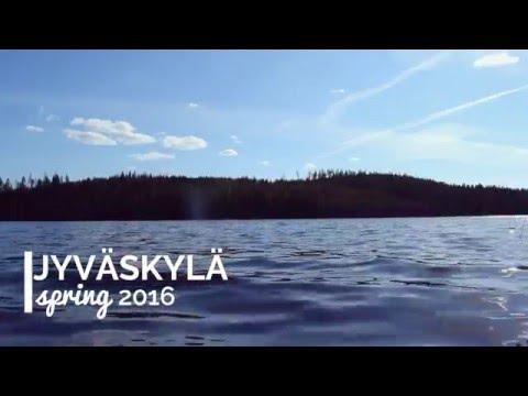 Spring in Jyväskylä, Finland