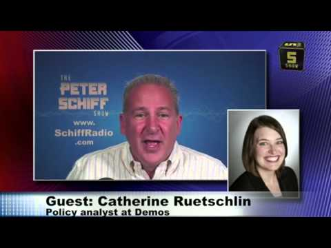 Boost the Minimum Wage To Boost Teen Employment? Peter Schiff Debates Catherine Ruetschlin