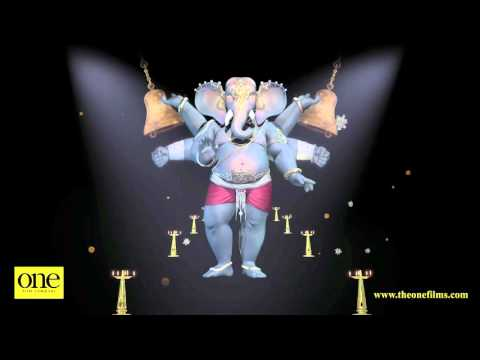 3D Holographic Film of Shree Ganesha on Ganesh Chaturthi