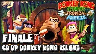 Donkey Kong Country Tropical Freeze (1080p) Part 8 FINALE Co Op - Final Boss & Credits