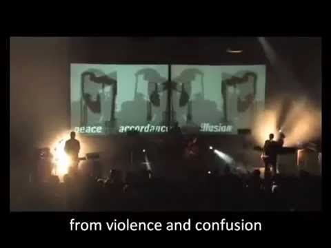 LAIBACH - AMERICA (live Version Incl. Song Lyrics And Introductory Speech)