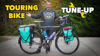 Janked up touring bike gets a Berm Peak tuneup!