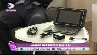 DSHOPPING QUADRO SOFT TOUCH II TABLET PC