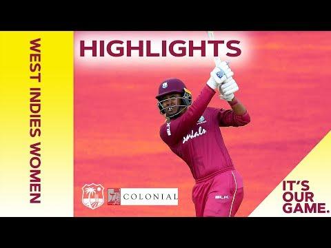 West Indies Women vs Australia Women | 1st Colonial Medical Insurance ODI 2019 - Highlights