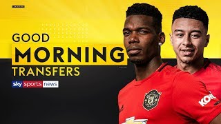 What does Pogba's bust-up with Lingard mean for his Man United future? | Good Morning Transfers