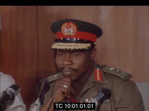 Presentation Of A Draft Constitution To Nigeria's Military Ruler |  September 14th 1976