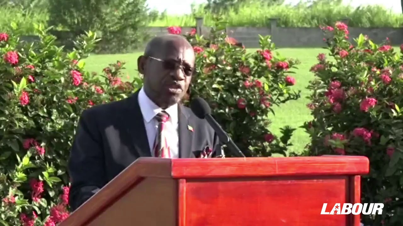 Rt. Hon. Dr. Denzil L. Douglas Remarks at SKNLP Annual National Heroes Wreath Laying Ceremony