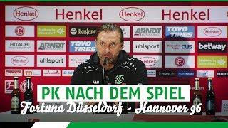 Fortuna Dusselsdorf 2 - 1 Hannover 96