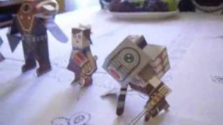 BioShock 2 Papercraft Models (finished) READ DESCRIPTION