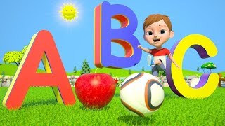 ABC Phonics Song For Children  Learn Colors amp Shapes