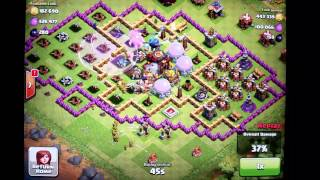 Clash of clans attack 1m + loot