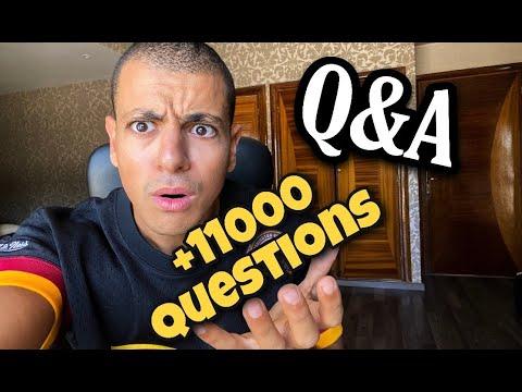 😱😱 وصلوني أكثر من 11 ألف سؤال !!!😱 LONGEST Q&A OF MY LIFE !!! 😱😱