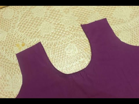 Perfect Back Neck Making Of Kurti   Cutting and Stitching