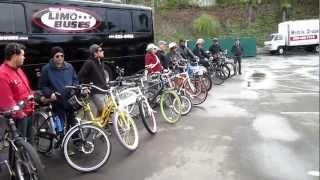 San Diego Kilowatt Hour Group E-bike Ride---1-6-2013