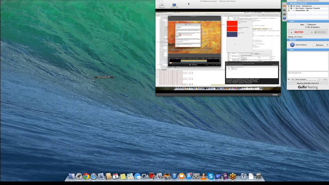 How To Record GoToMeeting With iShowU HD – shinywhitebox help