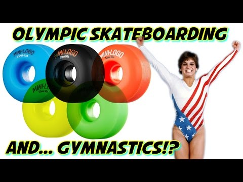 Olympic Skateboarding & Gymnastics (Tribute to the Final Five)