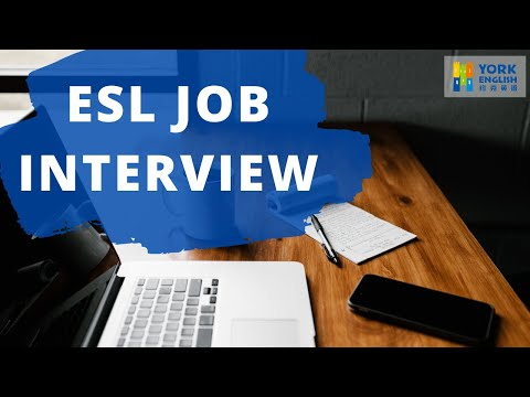 How To Prepare For An ESL Job Interview