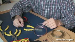 Repeat youtube video SchmuckTutorial Selbst einen Kettenanhänger herstellen