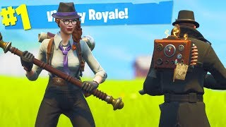 The New Fortnite DETECTIVE SKINS Gameplay..