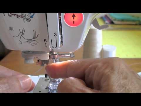 How To Thread Sewing Machine Sewing Basics