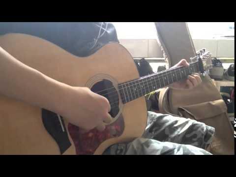 一週間フレンズ Isshuukan Friends ED - Kanade (奏) acoustic guitar fingerstyle solo