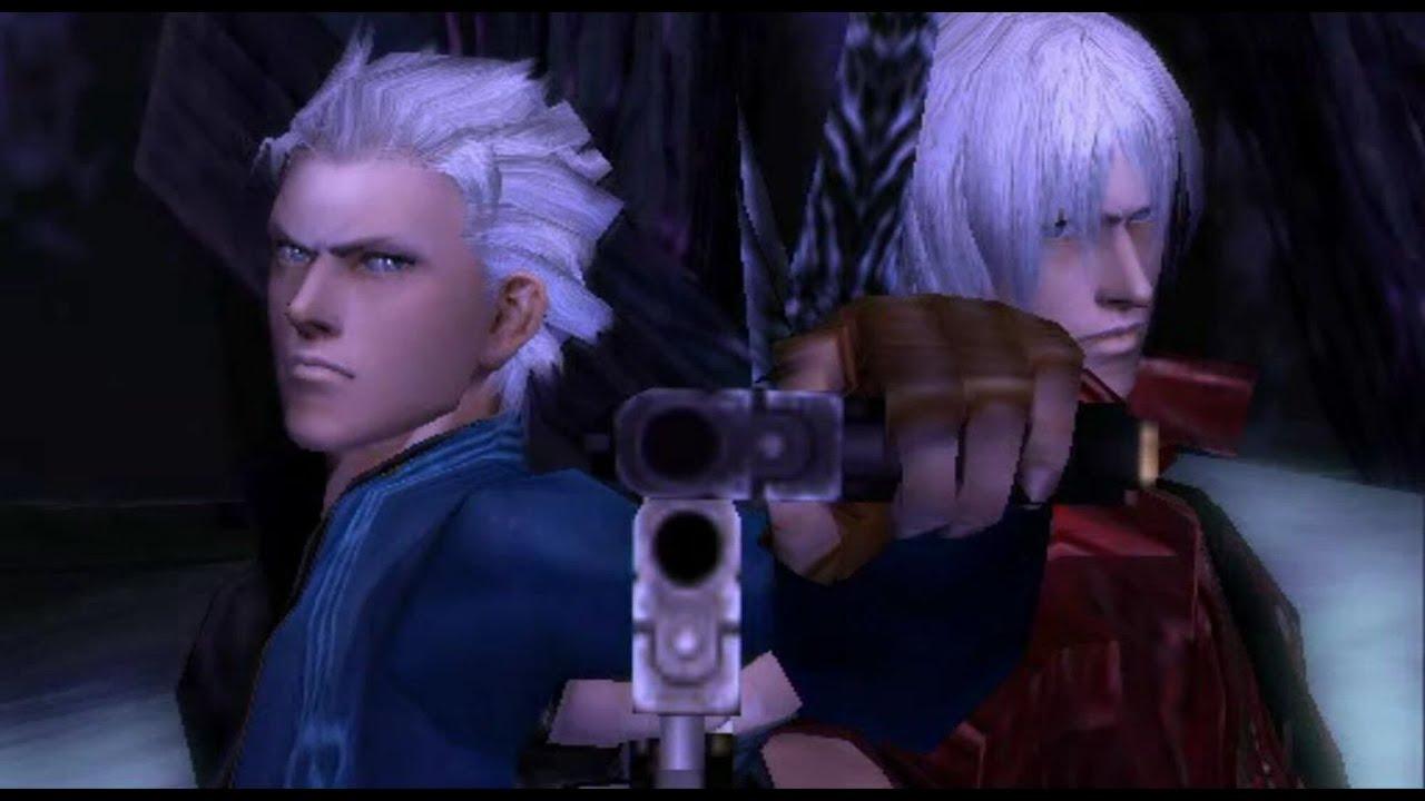 Devil May Cry 5 - Dante(Dark Slayer) vs Vergil(Quick Sliver) (Mod)