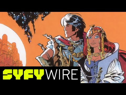 Drawing Valérian with Jean-Claude Mezieres | Syfy Wire