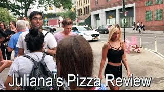 Juliana's Pizza Review - Brooklyn NY