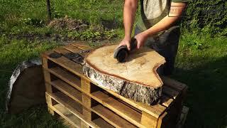 Tworzenie misy przy pomocy tarnika do drewna i freza tarnikowego.