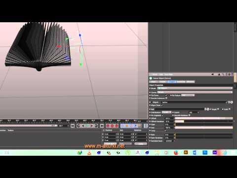 Cinema 4D - book speed modeling