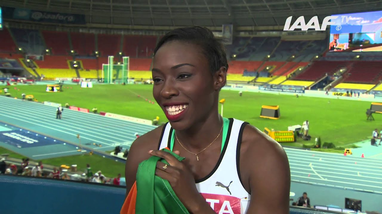Block World Free >> Moscow 2013 - Murielle AHOURE CIV - 100m Women - Final - Silver - YouTube