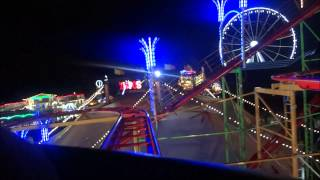 WILDE MAUS XXL AT NIGHT ONRIDE HYDE PARK WINTER WONDERLAND