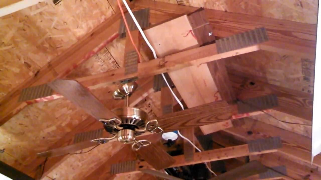 Broan made by alaska 42 ceiling fan youtube broan made by alaska 42 ceiling fan aloadofball Images