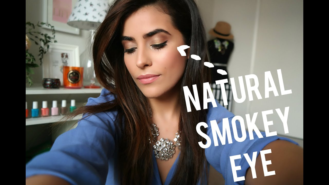 Natural Smokey Eye Tutorial Youtube