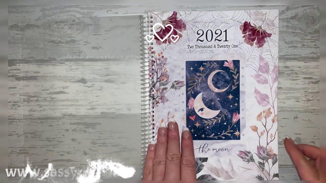 2021 Sassy Planner - full flip though